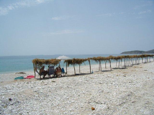 Albánie pláž