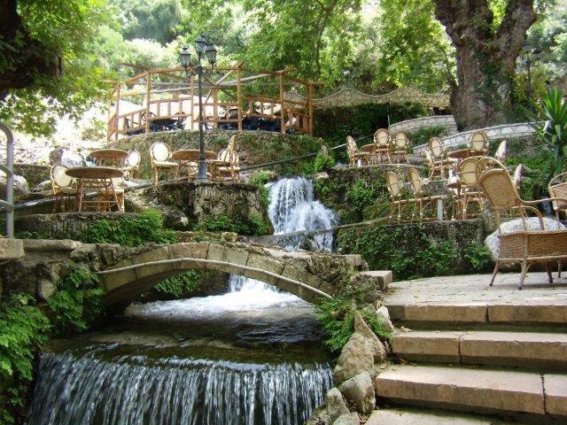 Albánie vodopád